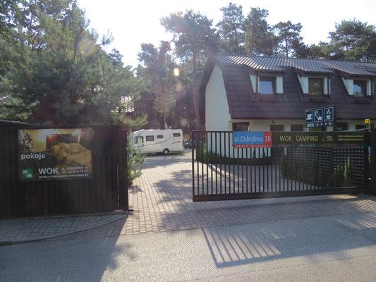 Stadtcamping in Warschau