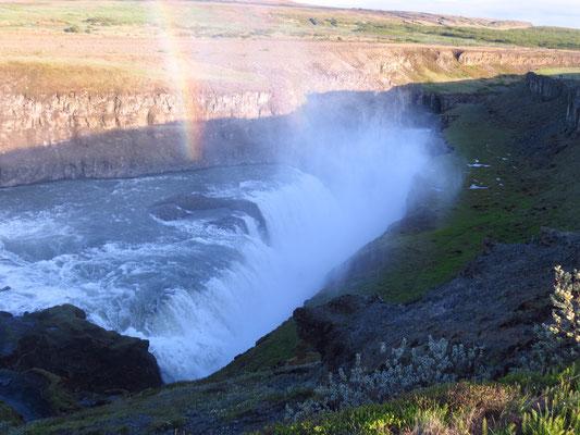 Der Gulfoss auf Island