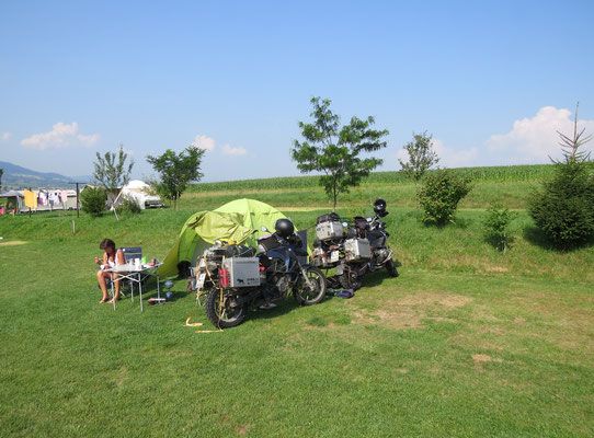 Camping in der Slowakei