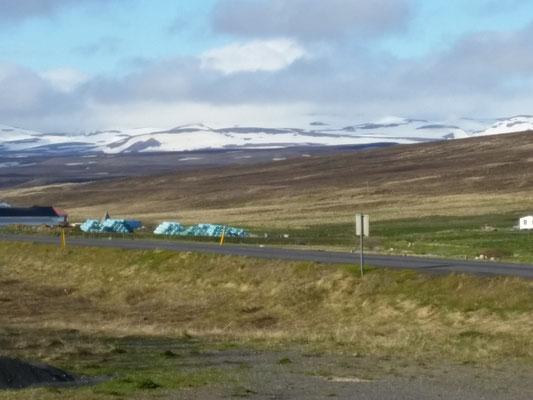Landschaft Island bei Hùsavik