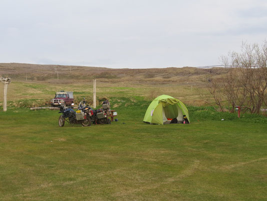 Camping in Bredavik