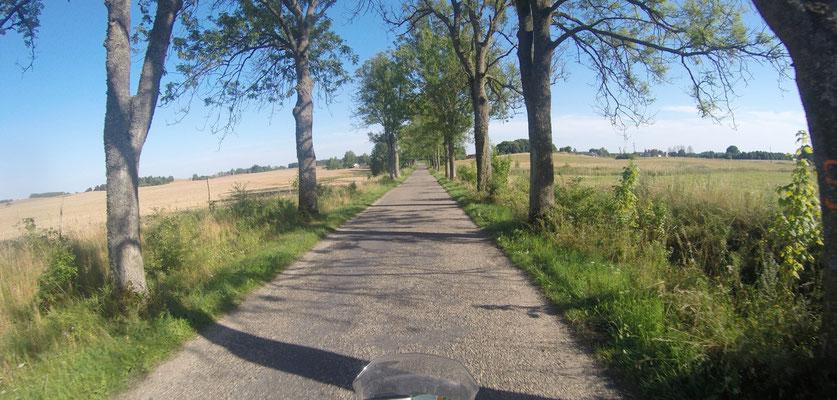 Fahrt in Polen