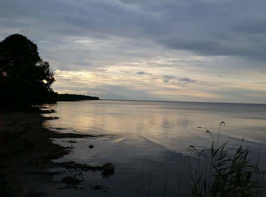 Blick auf den Peipsi See