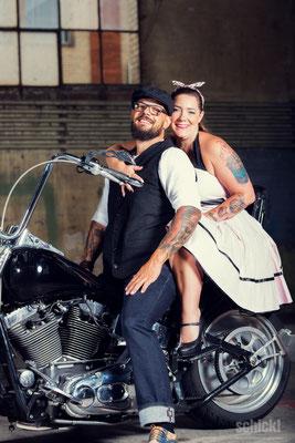Schick!Photography - Hochzeiten: Rockabilly Hochzeit Sergio & Mirjam 012