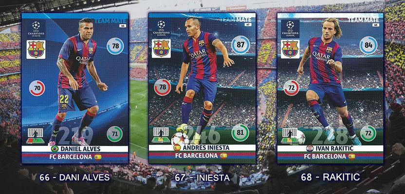 Topps Liga de Campeones 2018//19 FC BARCELONA Nº 17 Ivan rakiti