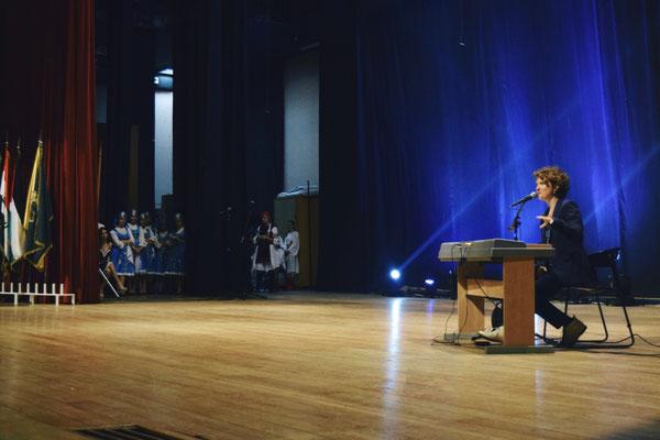"""Samstag, 7. Mai - """"Lions United World Event"""",  UNESCO Palace, Beirut - deutscher Beitrag"""