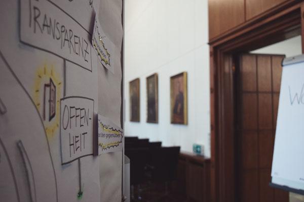"""Workshop bei der IHK zum Thema """"Werte"""" in Duisburg."""