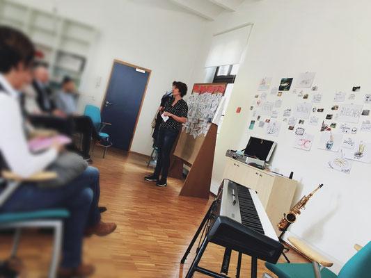 """""""(Wie) Kann Sinn führen?"""" - Workshop in einer sog. Führungswerkstatt in Wuppertal."""