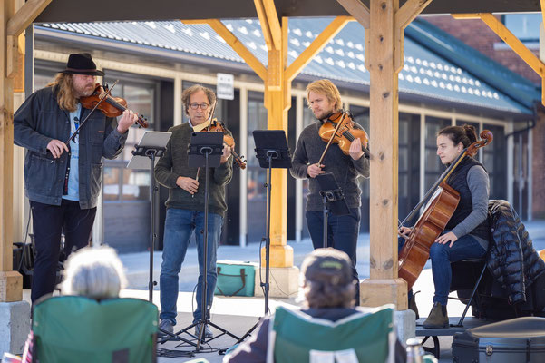 The Quartet during Sunday Brunch Pop-Up.
