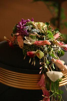 floraler Urnenschmuck