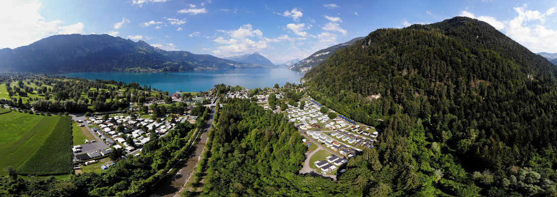 Camping Manor Farm mit Thunersee, 24.07.2018