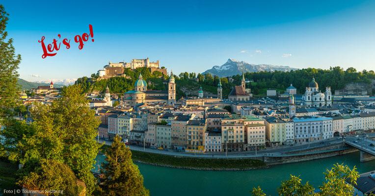 Explore Salzburg on a city walking tour!