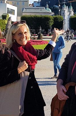 Your Salzburg Guide Liza Klinger!