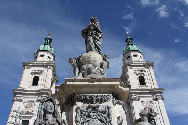 ..visite a piedi con Duomo di Salisburgo..