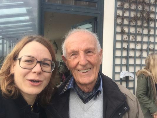 Selfie mit Dr. med. Hellmut Lützner