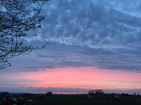 Sonnenuntergang im Lipperland