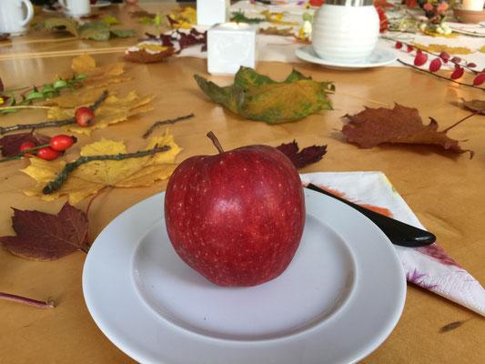 Apfelmeditation