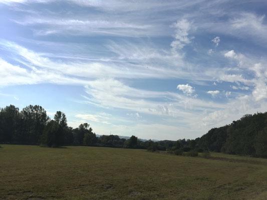 freies Feld im Nirgendwo zwischen Voßheide und Bärenort