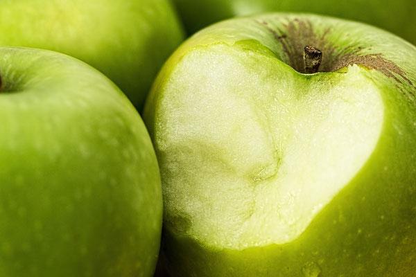Croquez la pomme verte