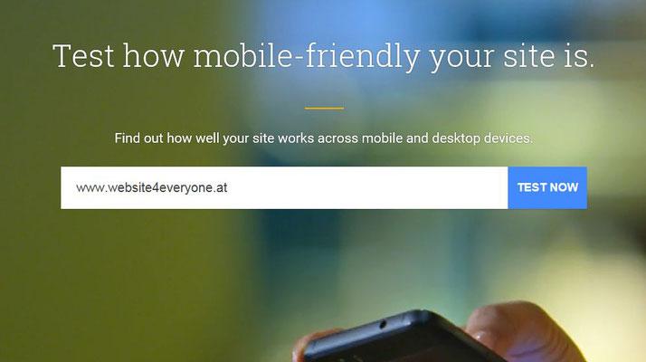 Teste Deine Seite - einfach deine Domain eingeben...