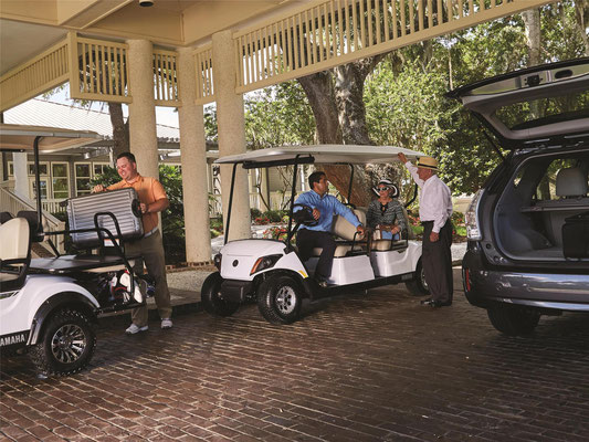 Yamaha CONCIERGE 4 limo cart