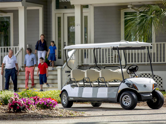 Yamaha CONCIERGE 6 limo cart