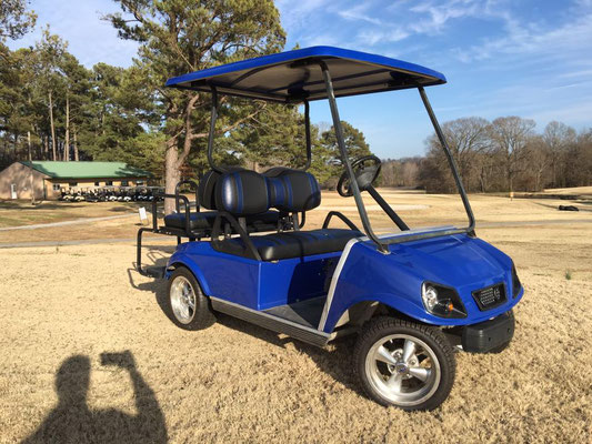 REFURBISHED AND CUSTOMIZED CLUB CAR