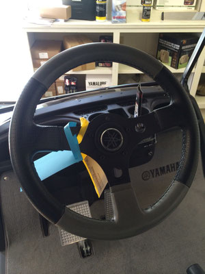 Sport Steering Wheel with Leather Grip, , will fit all models with included adapter