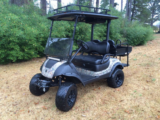 Dart's Carts Hunting Edition, Duck Dynasty Style Paint Scheme