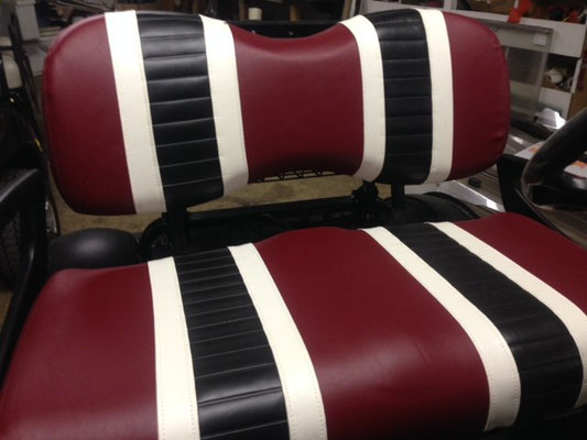 3 Tone Seat Covers (Upgrade your Seats with an upholstered cover)