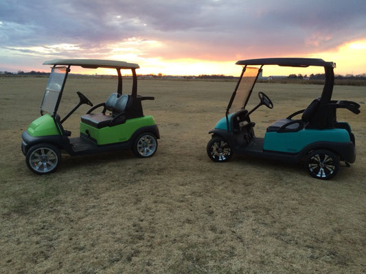 CUSTOM CARTS IN THE SUNSET