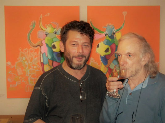 Regisseur Walter Stutz und Markus Michel, zwei wichtige Figuren für die kommende Winter-Produktion...