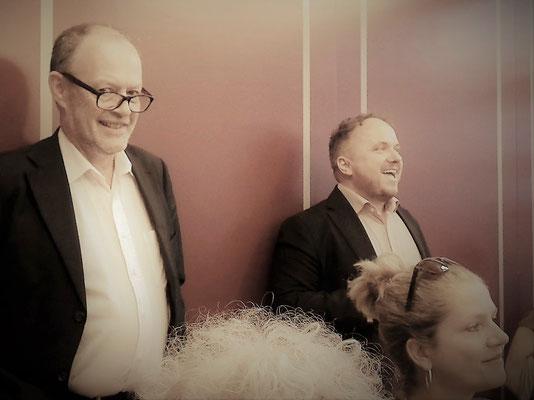 Jean-Michel und René präsentieren schöne Neuigkeiten...