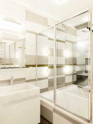 ЭСКИЗЫ ВАННОЙ. Двухкомнатная квартира. Дизайн проект.