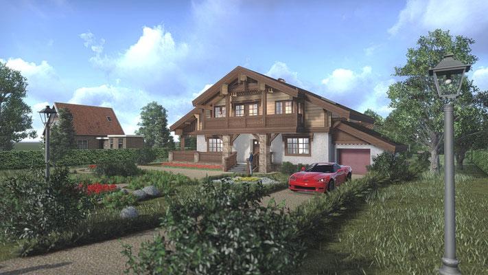 Проект дома за разумные деньги