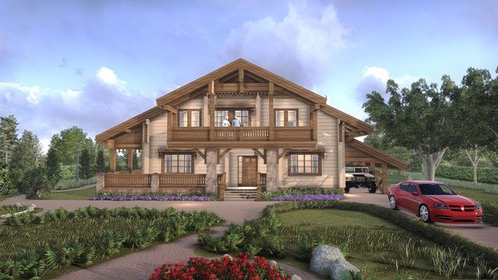 Роскошный частный дом. Проект
