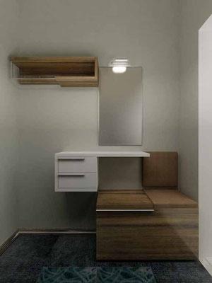 ПРИХОЖАЯ. Дизайн проект квартиры.