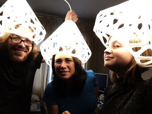 Lighting hats
