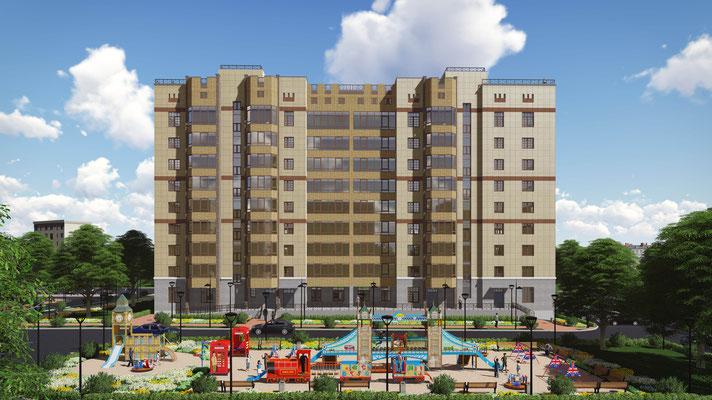 Коммерческая визуализация градостроительных проектов