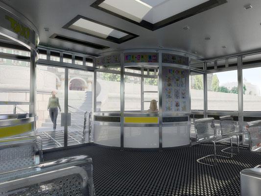 Дизайн интерьера объектов общественного назначения