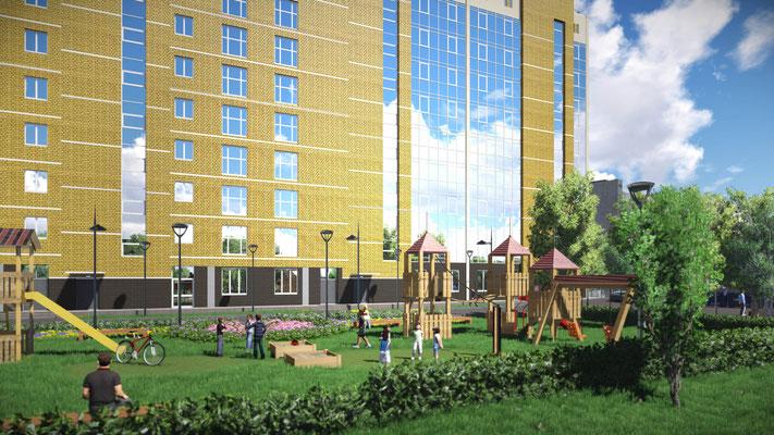 Визуализация градостроительных объектов.