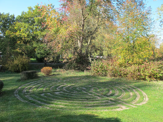 Bobingen (Singoldpark - Labyrinth)