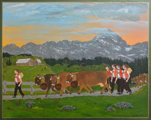 40 x 50 cm, Acryl auf Leinwand, 2011