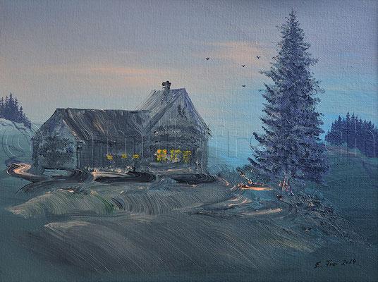 30 x 40 cm, Acryl auf Leinwand, 2014