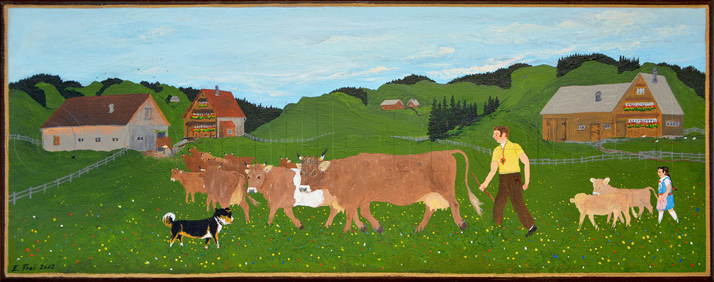 20 x 50 cm, Acryl auf Leinwand, 2012