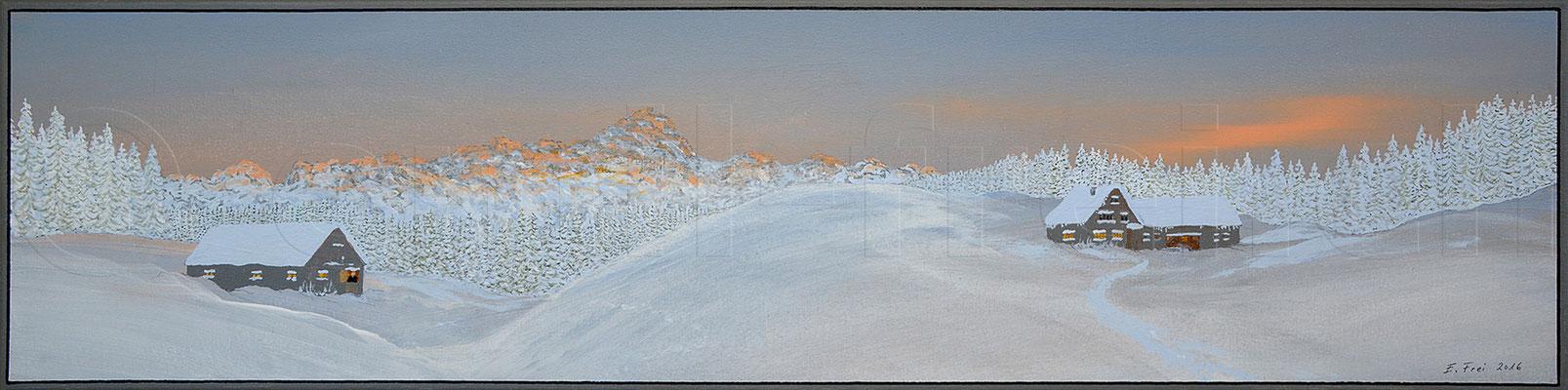 20 x 80 cm, Acryl auf Leinwand, 2016