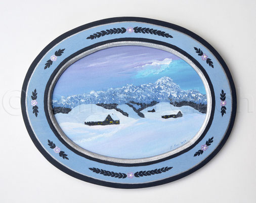 24 x 30 cm, Acryl auf Holz, 2012