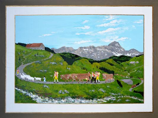 60 x 80 cm, Acryl auf Leinwand, 2013
