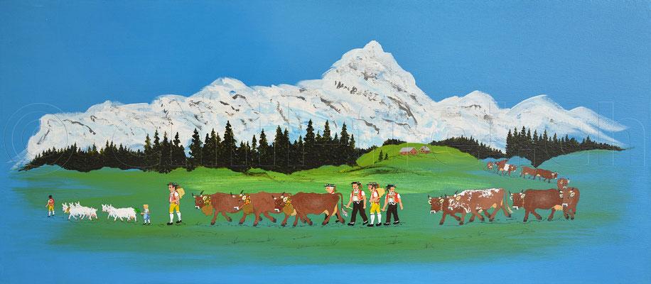 30 x 70 cm, Acryl auf Leinwand, 2016