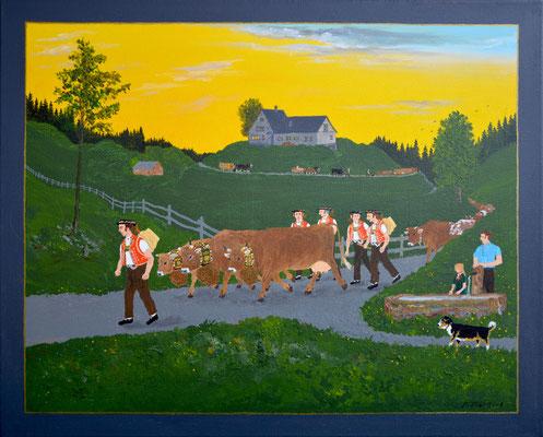 40 x 50 cm, Acryl auf Leinwand, 2013